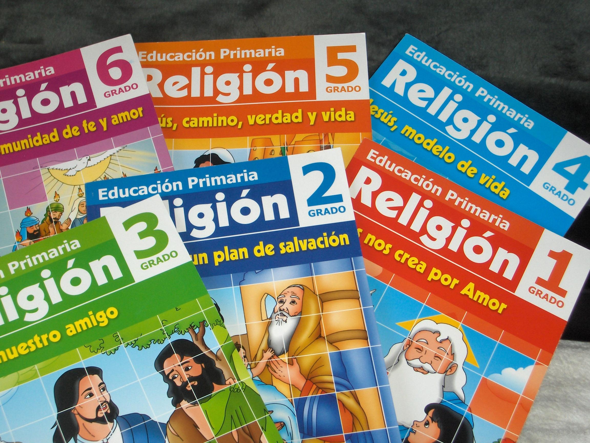 EDUCACIÓN RELIGIOSA: Descarga Los Libros De Religión De La